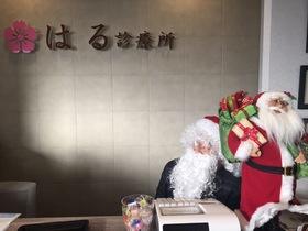 サンタさんと・・・、誰??( ;´Д`)
